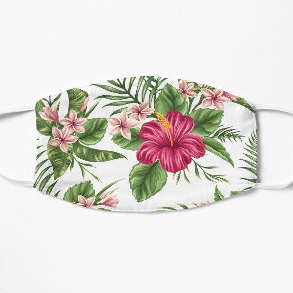 Tropical Flowers 2 Flat Mask
