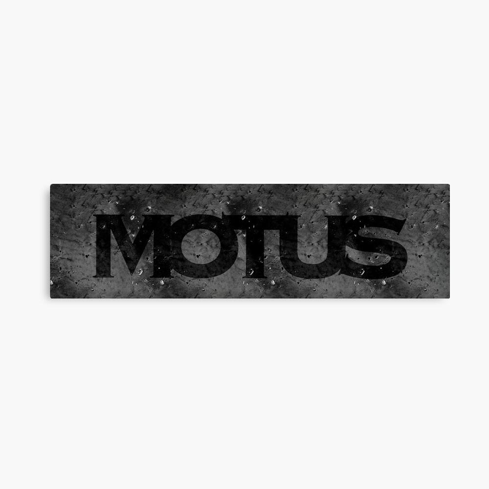 Motus Art Board Print By Particulart Redbubble
