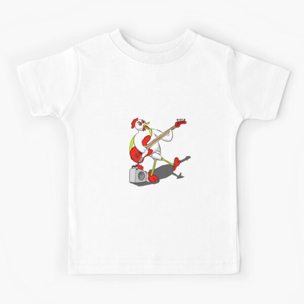Chicken Bass Kids T-Shirt