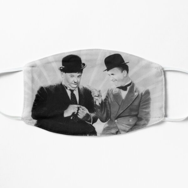 Laurel and Hardy Mask