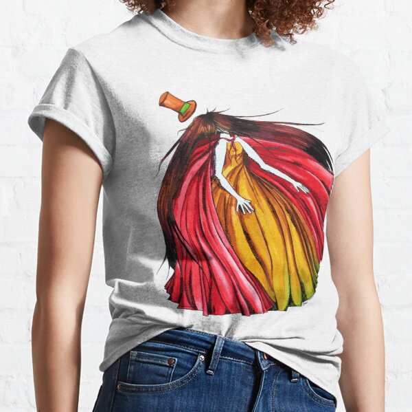 """""""Who is the mad hatter ?"""" : Le Chaperon Rouge / The Red Riding Hood Classic T-Shirt"""