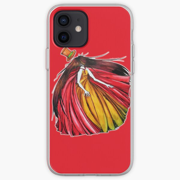 """""""Who is the mad hatter ?"""" : Le Chaperon Rouge / The Red Riding Hood iPhone Soft Case"""