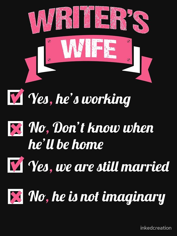 WRITER'S WIFE by inkedcreation