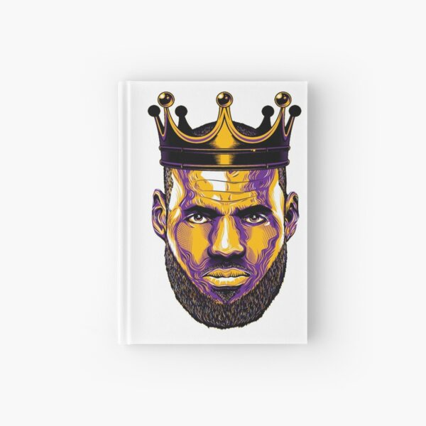 Lebron James lakers  Hardcover Journal