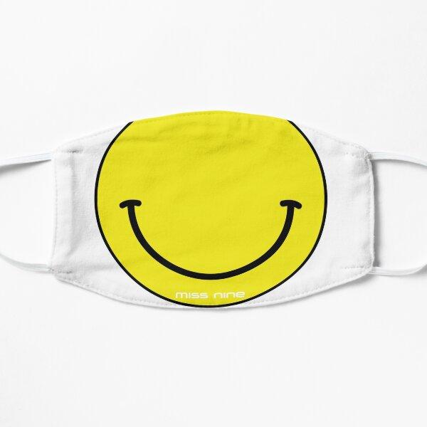 Acid Smiley Smile FaceMask Flat Mask