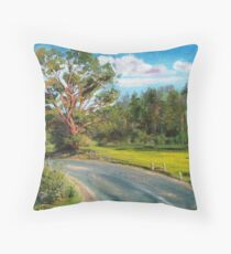 Landscape. Throw Pillow