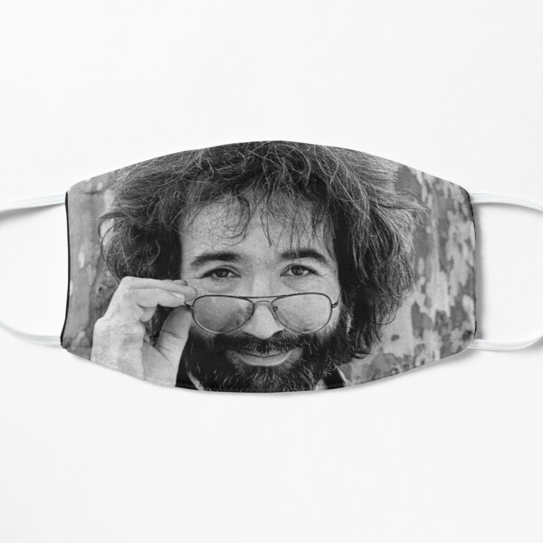 Jerry Garcia Flat Mask