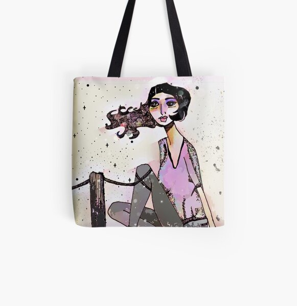 On the Dock All Over Print Tote Bag