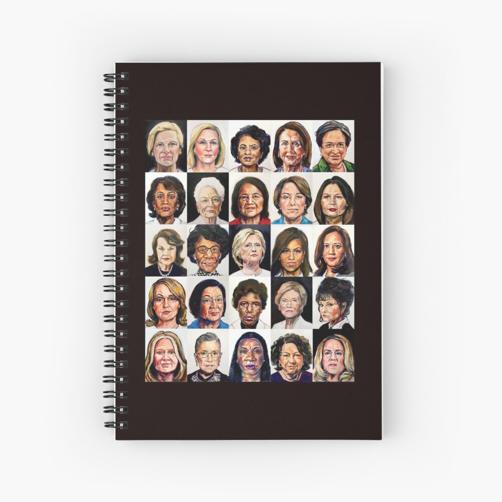 Sheroes 2020 Spiral Notebook