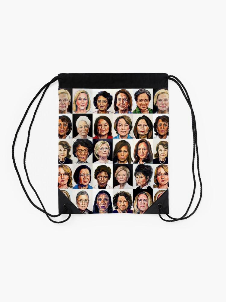 Alternate view of Sheroes 2020 Drawstring Bag