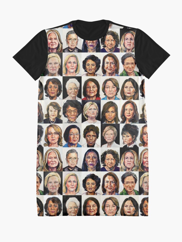 Alternate view of Sheroes 2020 Graphic T-Shirt Dress