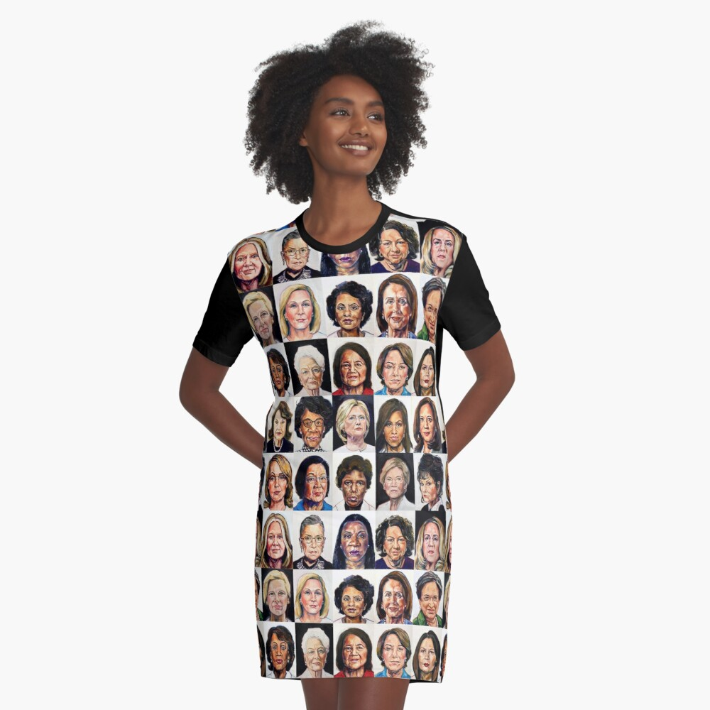 Sheroes 2020 Graphic T-Shirt Dress