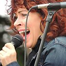 Janiva Magness Plays & Sings Blues in the Park by Sandra Gray