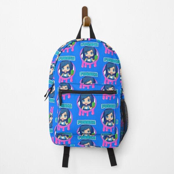 Funneh Pink Slime Logo Backpack