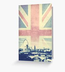 Sherlock London Union Jack Greeting Card