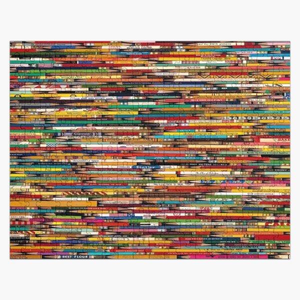 Difficult Pencil 1000-Piece Jigsaw Puzzle