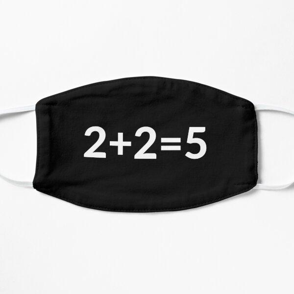 2 + 2 = 5 Masque sans plis