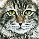 Arts & Cats - Cat Portraits by Nicole Zeug by Nicole Zeug