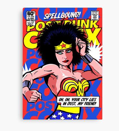 Post-Punk Super Friends - Wonder Canvas Print