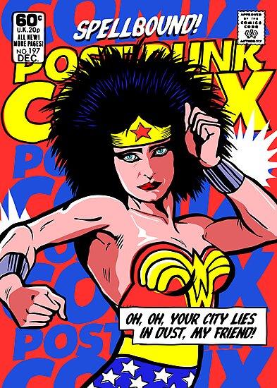 Post-Punk Super Friends - Wonder by butcherbilly
