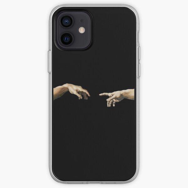The creation of Adam iPhone Soft Case