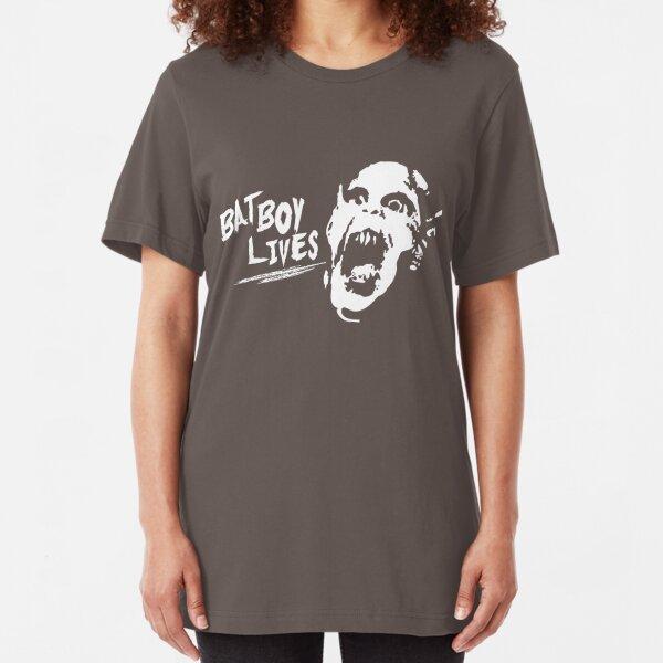BATBOY LIVES! Slim Fit T-Shirt