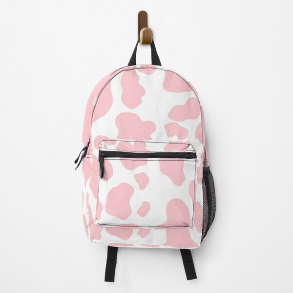 strawberry cow print Backpack