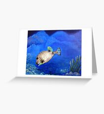 Casper - Ocean Series Tropical Fish Greeting Card