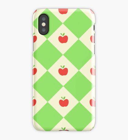Apple Jack Pattern iPhone Case