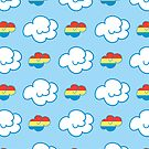 Rainbow Dash Clouds by samskyler