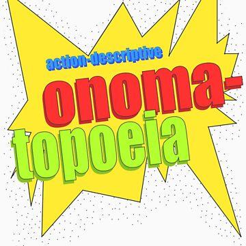 "Comic book ""onomatopoeia"" by awkwardunclekim"