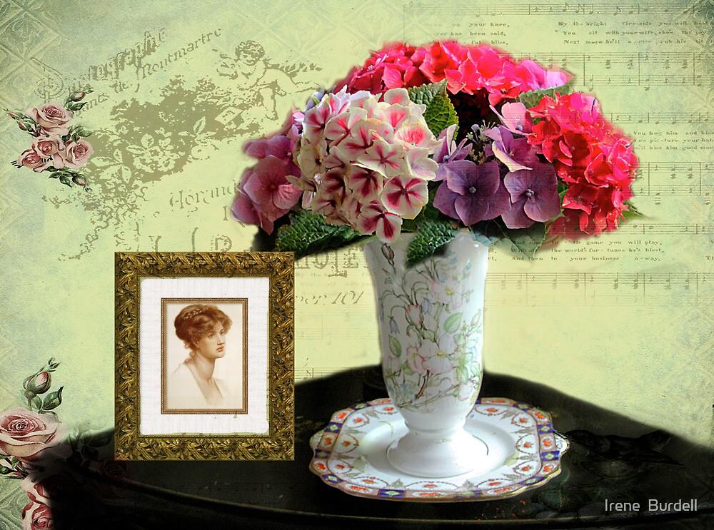 Hydrangeas by Irene  Burdell