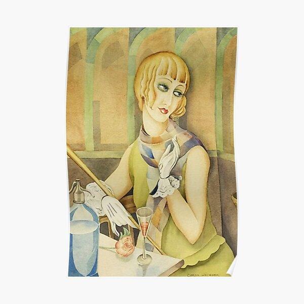 Lili Elbe by Gerda Wegener [1886 - 1940] Poster