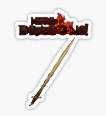 Dragon Hunter's Sword Sticker