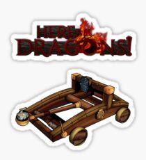 Dragon Hunter's Catapult Sticker