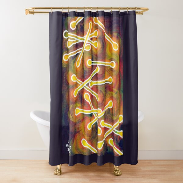 Tiny Trophies Shower Curtain
