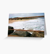 Defiantly A Big Day At City Beach Nine 26 06 13 Greeting Card