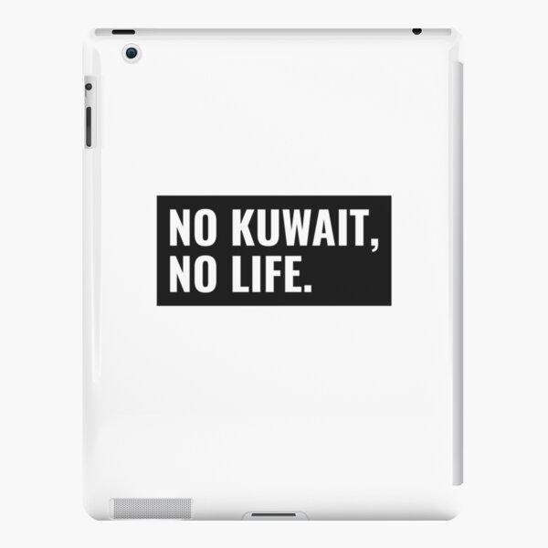 NO KUWAIT NO LIFE Stylish Design تصميم كويتي iPad Snap Case