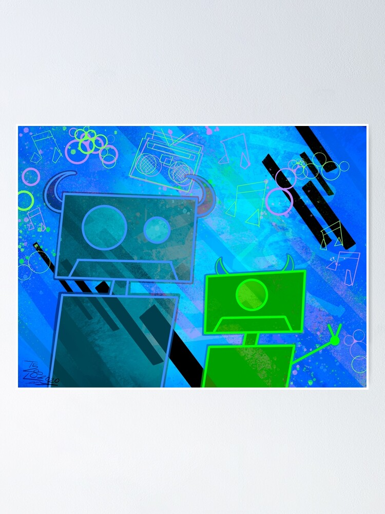 Alternate view of M Inc Beats Poster