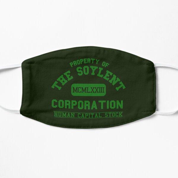 Vintage Soylent Green Corporation Flat Mask