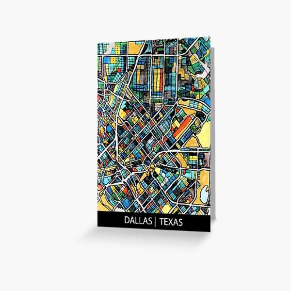 Dallas, TX Greeting Card