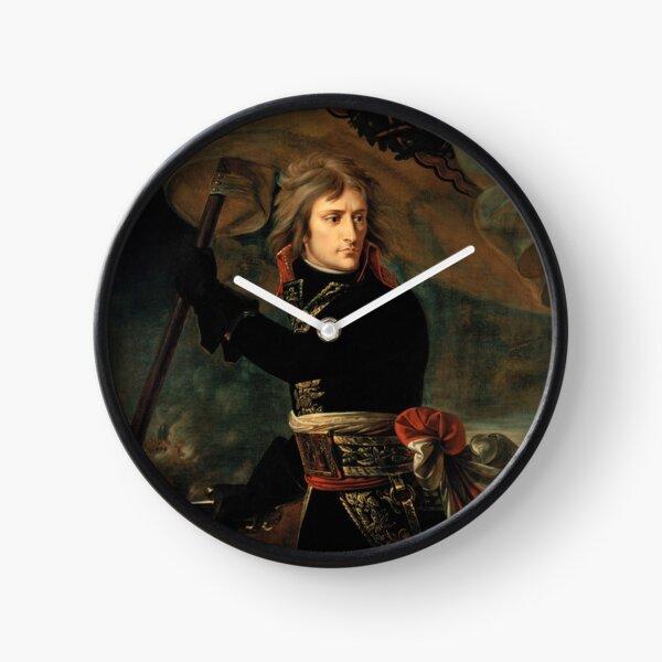 Bonaparte at the Pont d'Arcole - Antoine-Jean Gros Clock