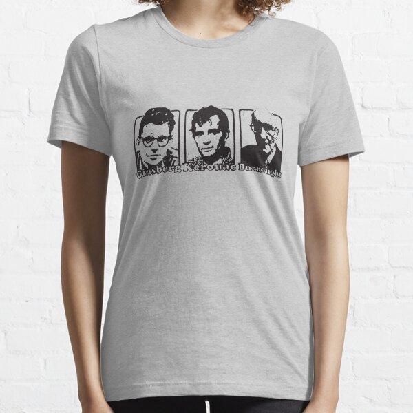 Beat Trinity: Kerouac, Burroughs and Ginsberg  Essential T-Shirt