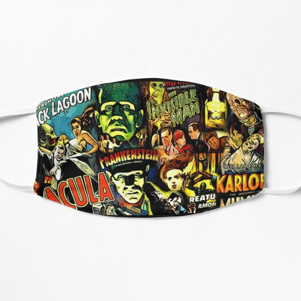 Horror cult universal monsters movies face mask Mask