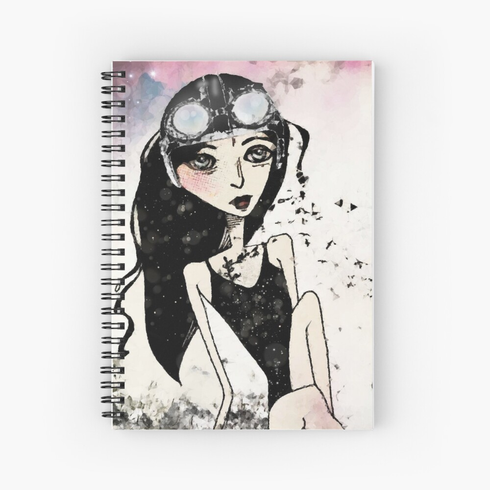 The Arrival of Spring Spiral Notebook