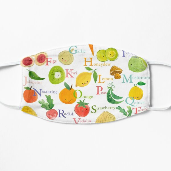 Fruit and Veggie Alphabet Mask