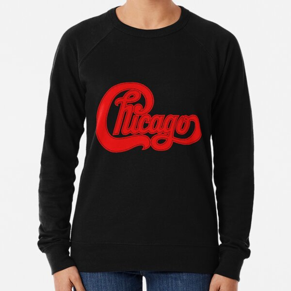 goes to chicago inewstv logo band Lightweight Sweatshirt