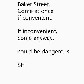Sherlock Holmes text message (small) by ShireLocked