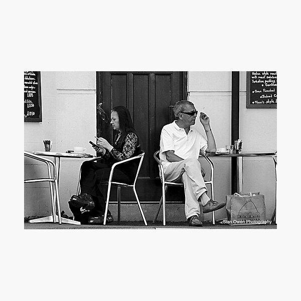 Coffee & Cigarettes Photographic Print