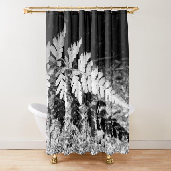 Shadow Fern Shower Curtain